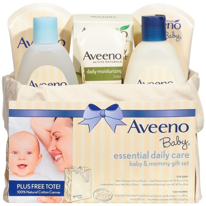 Regalos para babyshower Línea de cuidado diario Aveeno