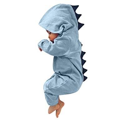 regalo para babyshower Pijama entero de dinosaurio de Goddesvan