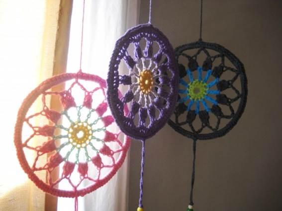 Mandalas para decorar tejidos