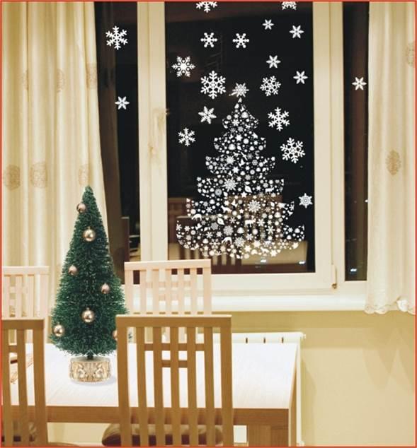 Manualidadde Decoradas de Navidad salon