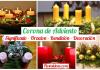 corona de adviento navidad