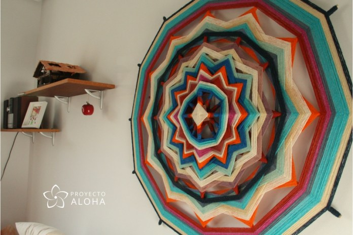 Mandalas textiles para decorar paredes