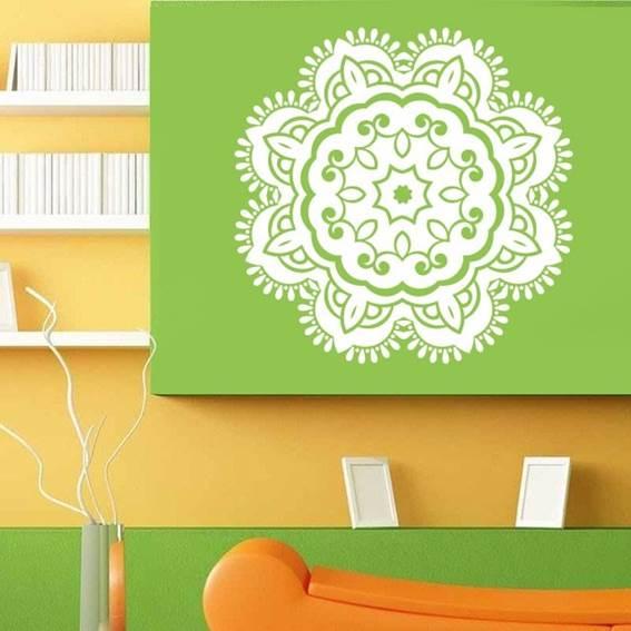 Mandalas para decorar las paredes de salas
