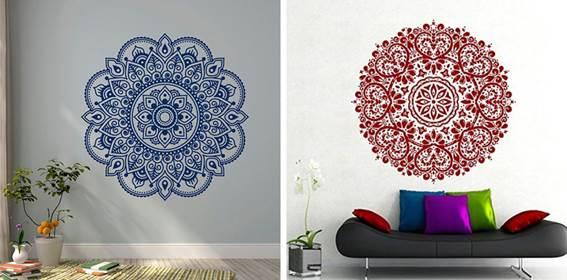 Mandalas para decorar las paredes
