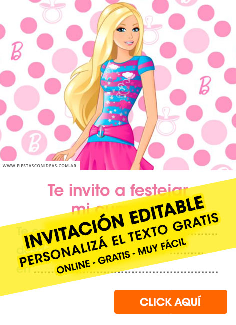 25 free barbie birthday invitations