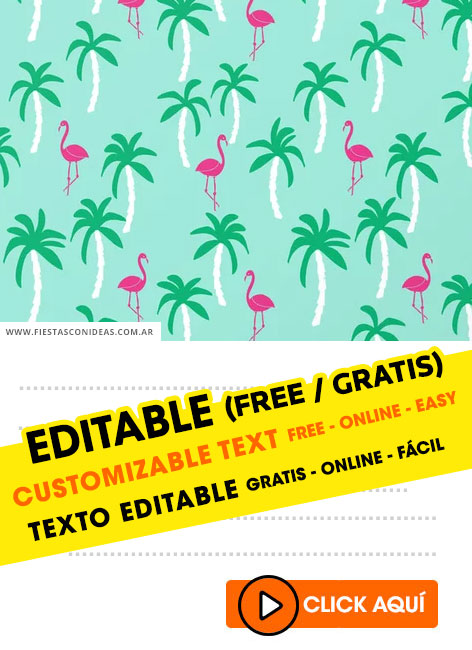14 free flamingo birthday invitations