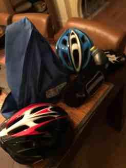 Voor wie was die tweede fietshelm? — bij Fietsen voor m'n eten.