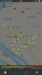 30 km in de beentjes naar en van het Snertfietsen — bij Fietsen voor m'n eten.