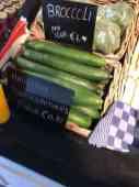 Komkommers mee bij Keurslager Poleij — bij Keurslager Poleij.