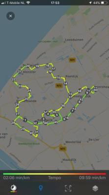 49 km in de beentjes — bij Fietsen voor m'n eten.