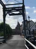 Via Haastrecht verder naar Vlist — in Haastrecht.