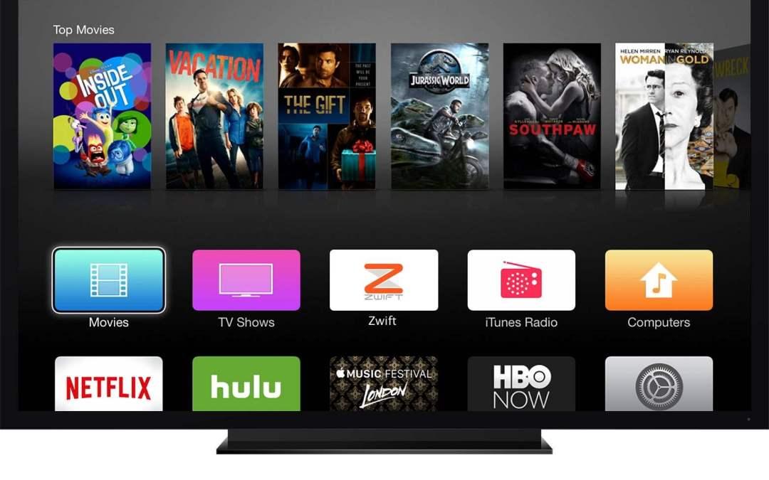 Zwift op AppleTV! Eenvoudige en goedkope set-up!