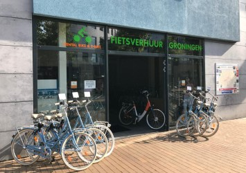 fietsverhuurshop