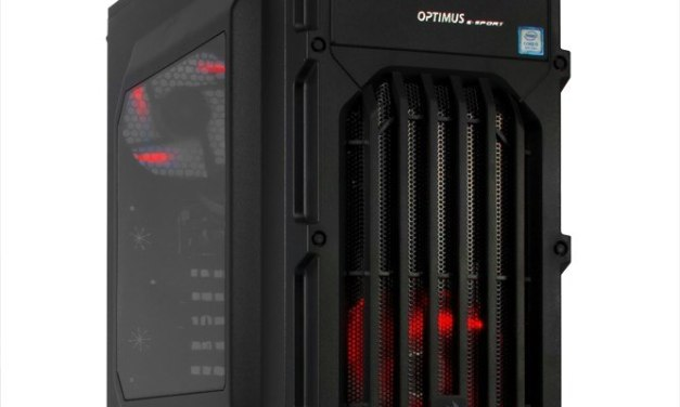 Komputer Gamingowy – Optimus, E-Sport MB360T-CR7 i5-8400/16GB/1TB/1060 6GB