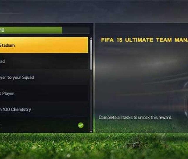 Fifa 15 Ultimate Team Manager Tasks Basic Guide