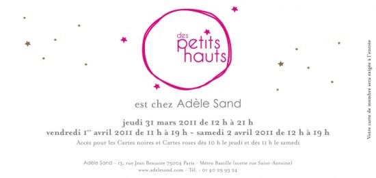 Adèle Sand   Calendrier des ventes du mois de mars   03 zoom