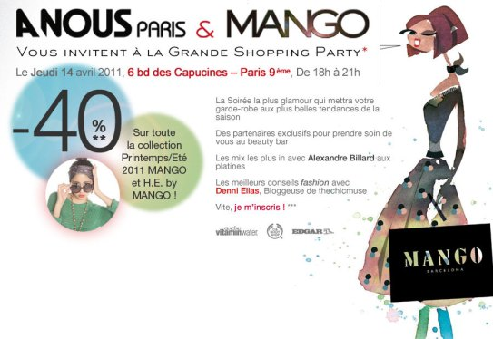 Mango Shopping Party   fondo intermedia
