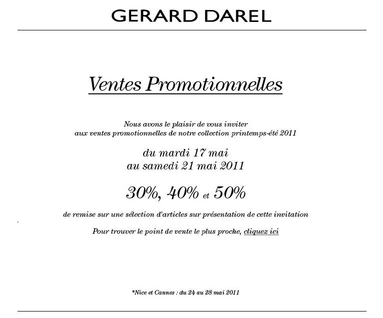 Ventes promotionnelles Gérard Darel   2011 05 16 22h16 52