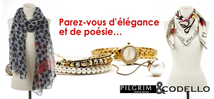 Un bon dachat Pilgrim à 19€ au lieu de 50€ sur Bon Privé   000975 paris pilgrim