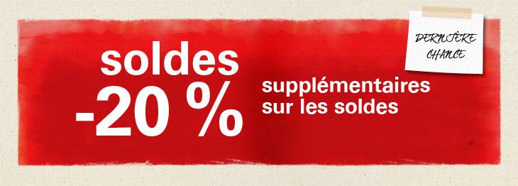 Soldes :  20% supplémentaires sur Elle Passions et Esprit   countdown lastday