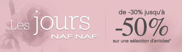 Les jours NAF NAF jusquà  50 %   Automne 2012   jours NAFNAF