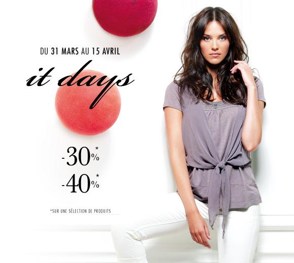 It Days DDP jusquà  40 %   itadays ddp