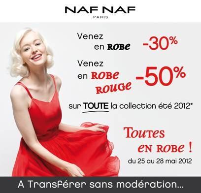 La journée de la robe Naf Naf   Flyer JDR