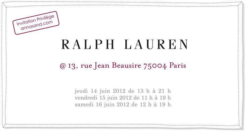Vente privée Ralph Lauren