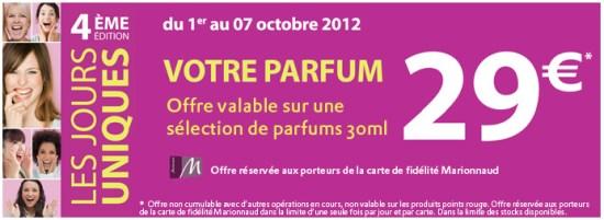 Votre parfum à 29€ chez Marionnaud #2   marionnaud 550x201