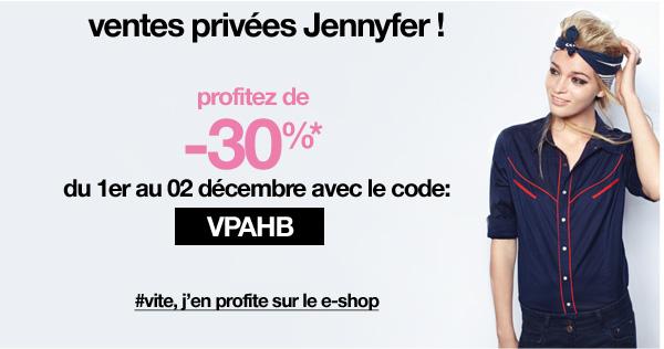 Ventes privées et bon plan Jennyfer   VP blogs