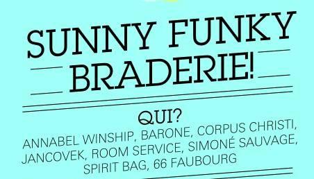Sunny Funky braderie avec Annabel Winship, Simoné Sauvage...   braderie e1371032396616