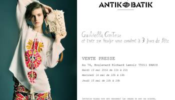 vente presse antik batik