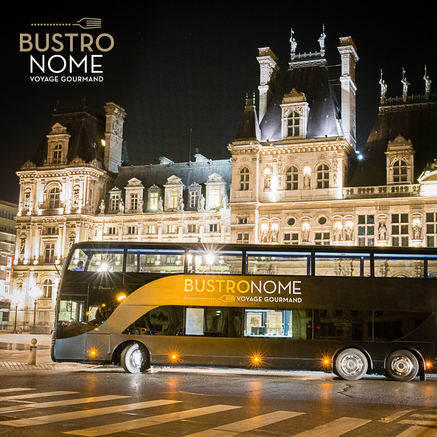Le Bustronome : Paris version impérial   bustronome