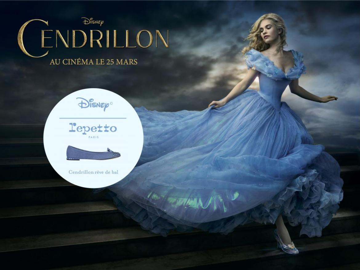 cendrillon reve de bal repetto