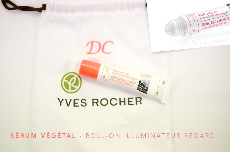 Sérum Végétal, la nouvelle gamme star dYves Rocher   serum vegetal Roll on Illuminateur Regard yves rocher
