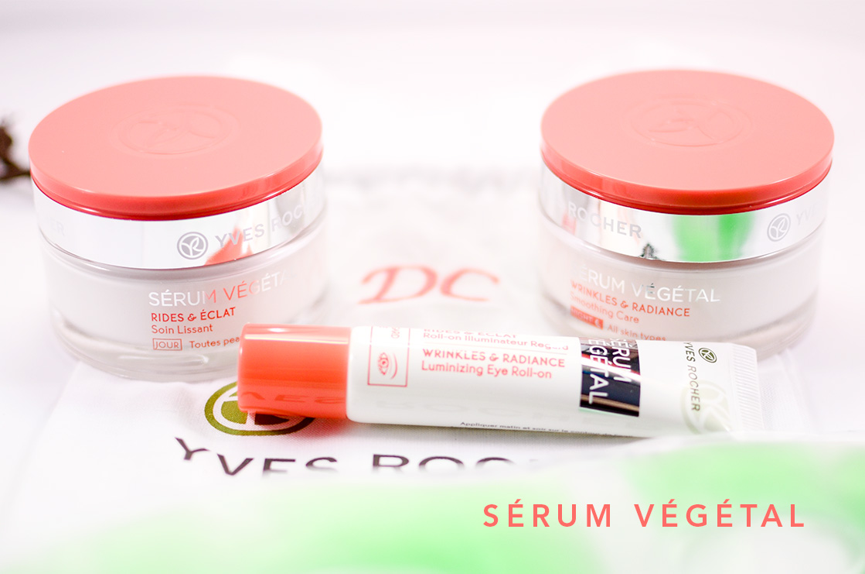 Sérum Végétal, la nouvelle gamme star dYves Rocher   serum vegetal yves rocher