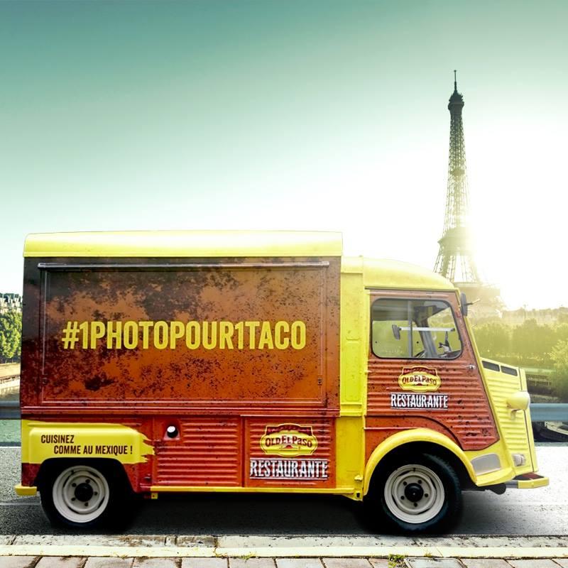 Une photo pour un taco !   foodtruck old el paso