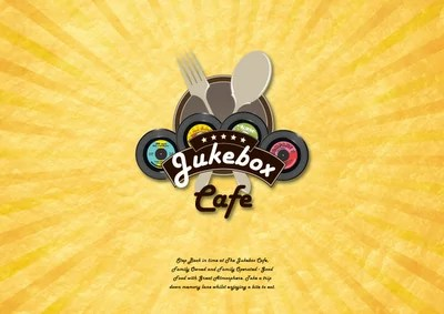 corporate brand design jukebox cafe