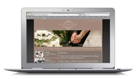 Wedding Venue Nottingham Website SEO Campaign