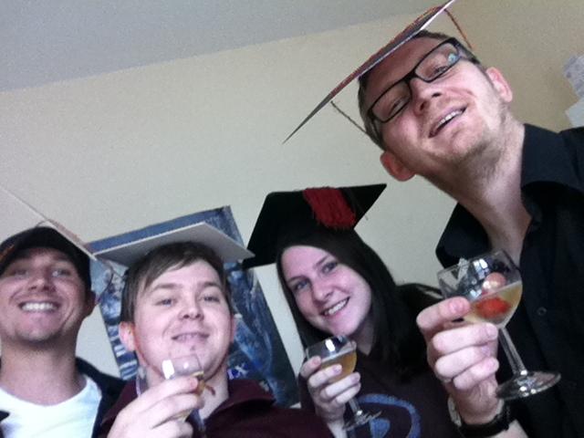 graduation for Lofty