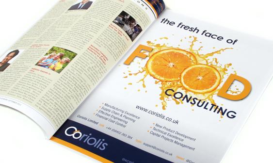 Coriolis Food Consultancy Ad Campaign