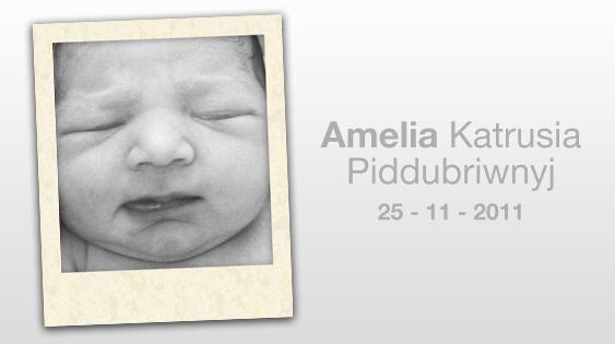 new member, baby amelia