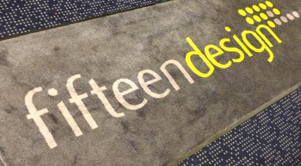 brand corporate rug