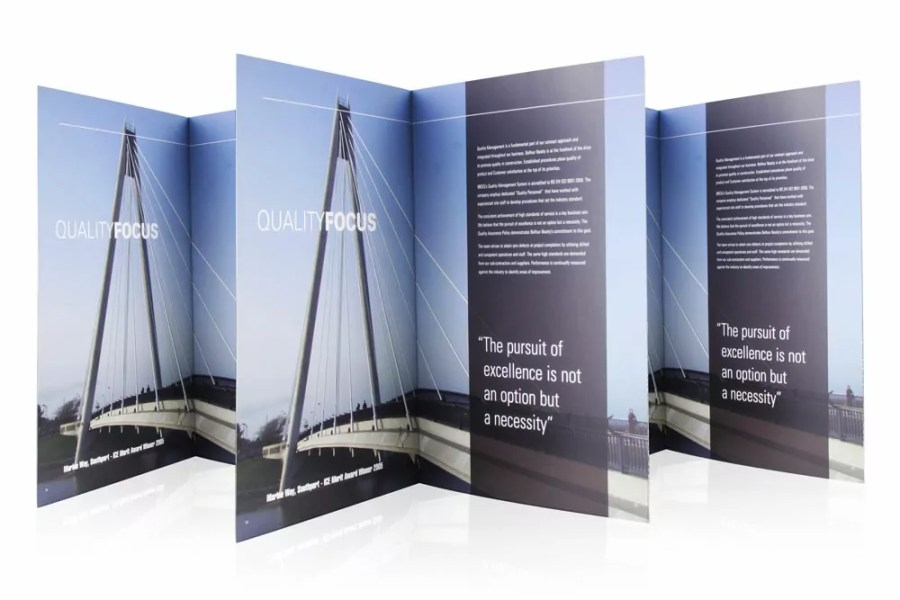 Balfour Beatty Brochure Design