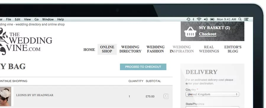 the-wedding-vine-shopping-cart-website