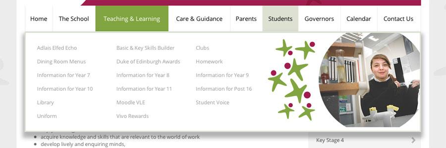 elfed-high-school-responsive-school-website-design