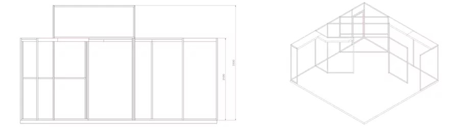 Garmendale Exhibition body build sketch