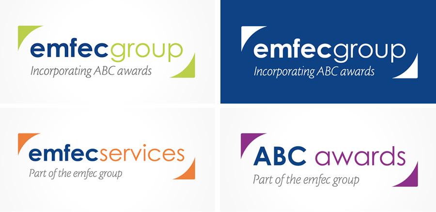 emfec logo design and branding