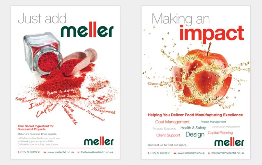 Meller's New Ad Campaign making an impact