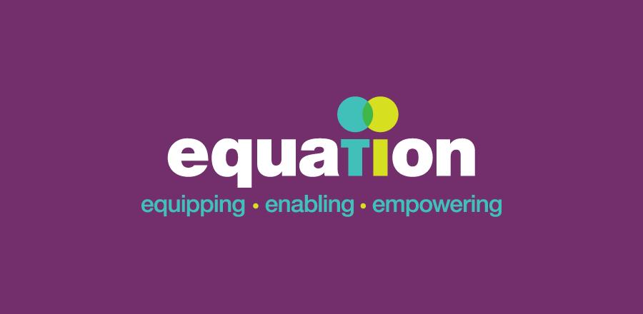 relaunch as equation logo